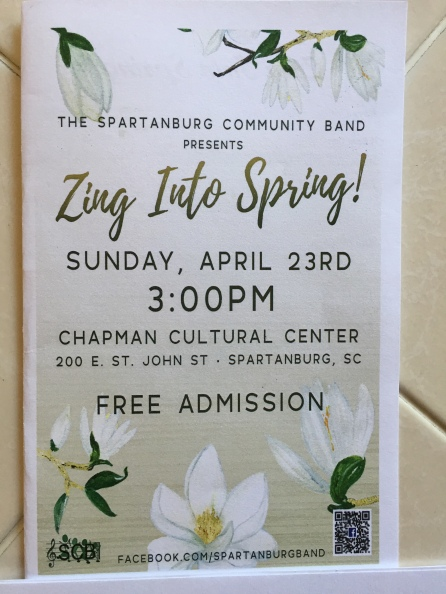 Zing into Spring flyer 0417
