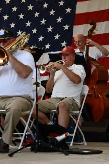 trumpet, bass, trombone